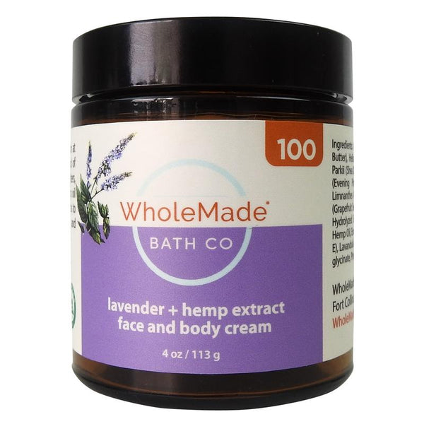 Face and Body Cream + Hemp Extract