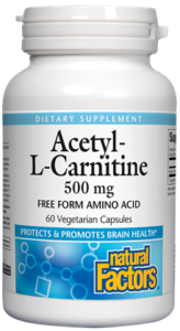 Acetyl-L Carnitine - 60ct