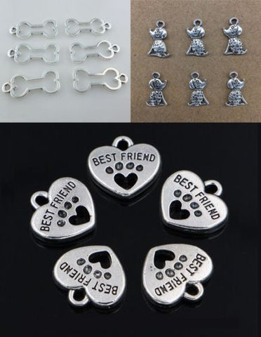 Pet, Paw, & Bone Charms