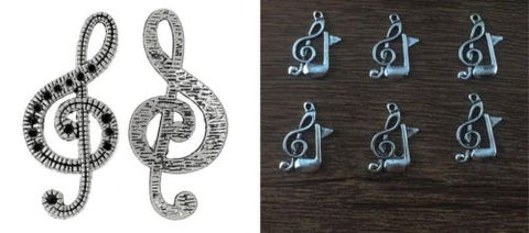 Note Clef Music Charms