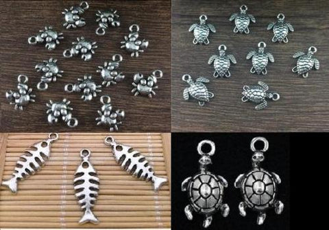 Sealife Beach Charms