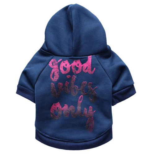 Good Vibes Only Dog Hoodie