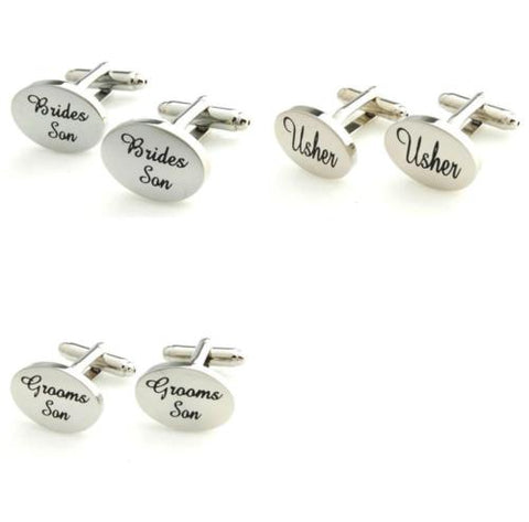 Bridal Party Cufflinks