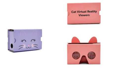 Cat Virtual Reality Viewer Glasses