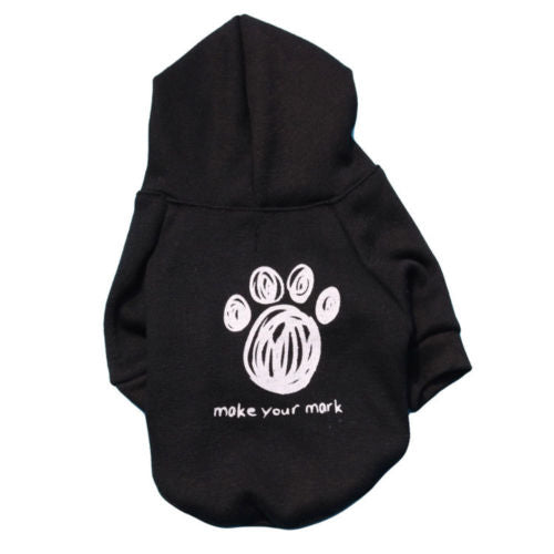 Make your Mark Dog Hoodie