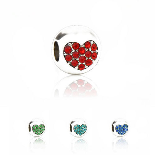 HEART Bead Charms