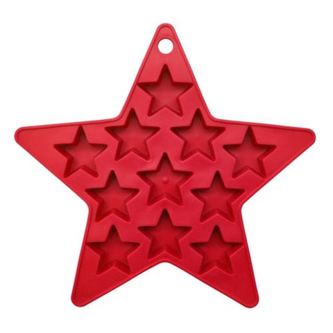 Star Silicone Tray -- Set of 2