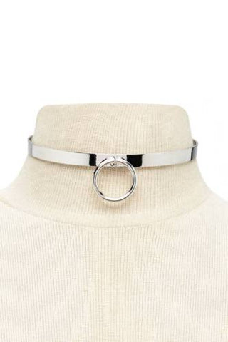 FOREVER 21 O-Ring Metal Choker