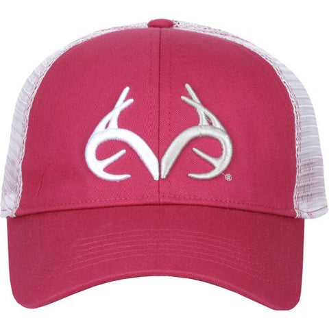 Realtree Pink Trucker Hat