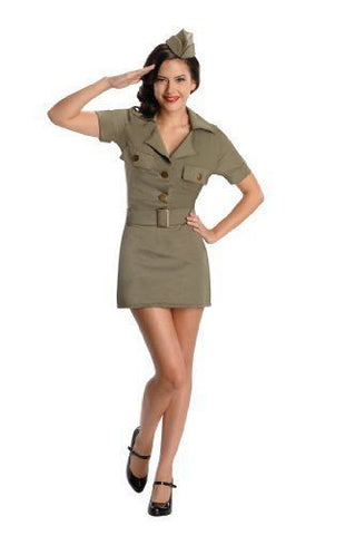 Sexy 40s G.I. Girl Costume