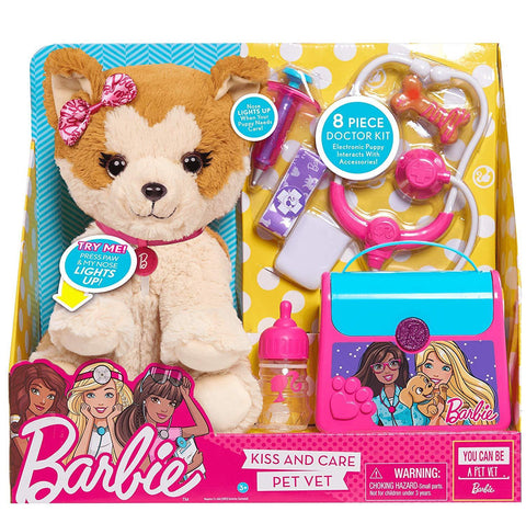 Barbie Kiss & Care Pet Vet
