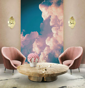 Large Cloud Art Huge Painting Canvas Print Elegant Pink Clouds Pastel Decor Dreamy Wall Art Trendy, Interior, Julia Apostolova, Pink Clouds, Pastel Art, Elegant Wall Art, Home Decor, Huge Wall Art, Large Art Decor, Luxury Decor, Interior Designer, Hotel Lobby Art, Bedroom Art, Livingroom Art, Kids Room Decor