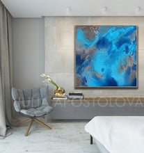 Blue and Gray Wall Art, Ocean Print, Gift for Him, Office Decor, Coastal Canvas Art, Relaxing, Summer Decor, Blue Abstract Art, Blue Marble Painting, Navy Blue Ocean Wall Art Canvas, Modern Print Blue Wall Decor, Julia Apostolova, Blue Painting, Coastal Art, Cozy, Interior, Home Decor, Bedroom Wall Art, Ocean Painting, Minimalist Blue Art, Ocean Abstract, Abstract Seascape, Bathroom Wall Art, Hotel Lobby Art Decor, Airbnb wall art decor, Coastal Decor, Elegant Art, Ocean Wall Art, Turquoise Blue Abstract