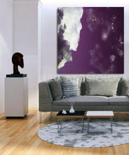 Cloud Canvas Abstract Minimalist Painting Cloud Wall Art Modern Print on Canvas for Trendy Art Decor