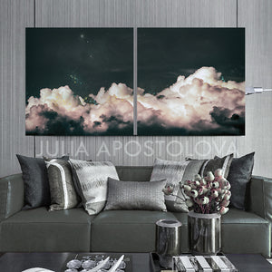 Cloud Paintings, Set of Two Canvas Prints, Minimalist Abstract Wall Art, Nordic Trendy Cloud Art Decor, cloud painting, cloud overlay, cloud art painting, cloud art design, cloud art canvas, cloud abstract print, cloud abstract canvas, julia apostolova, neutral painting, cloud abstract art, watercolor, wall decor wall art, neutral art, vintage, two abstract prints, two abstract paintings, black gray, office art, trendy wall art, trendy art, two abstract paintings, black gray, trendy art, trending decor
