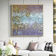 Pastel Color Wall Art Original Painting, Julia Apostolova, Romantic Floral Abstract Painting Elegant Gold Leaf Art, Pastel Colors, Modern Romantic tender art, Original Abstract Gold Leaf Painting, Art Gift for Her, Girls Room Decor, Interior Decor, Interior Design, Interior Designers, Kids Room Decor, Wall Art Design, Gold Leaf Wall Art, Glitter, Golden Accents, Modern Decor, Zen, Floral Art, Floral Abstract, Original Wall Art, Original Artwork