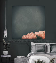 cloud painting, cloudscape, cloud wall art, scandinavian design, nordic style, minimal wall art, minimalist painting, cloud print, cloudscape wall art, dreamy art, scandinavian art, nordic design, scandinavian design style, julia apostolova, gray, grey, rose gold, pink, watercolour, watercolor print, modern wall decor, wall art decor, wall art, contemporary two abstract prints, abstract painting, modern decor, canvas prints, zen, bedroom painting, minimalist art, bedroom art, livingroom, bathroom