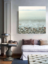 Long Exposure Photography, Coastal Print, Minimalist Wall Art, Pebble Beach Peaceful Waters, Zen Art, Calming, Mystery, Relaxing Wall Art, Decor, Interior, Bedroom Art, Interior Design Ideas, Interior Designer, Spa Decor, Julia Apostolova, Greek Islands, Calming Waters