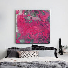 pink and silver, purple and silver, julia apostolova art, amaranth wall art, amaranth color, Amaranth Abstract, Wall Art, Gallery Wrapped Canvas Print, Contemorary, Home Decor, Feng Shui, Colour Art, Abstract Print, Minima Art, Pink, Interior, Decor, Livingroom, Interior Designer, Square Painting, Julia Apostolova, Large Wall Art, bedroom, interior design ideas