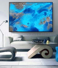Blue Painting, Turquoise Painting, Abstract Painting, Sea Art, Zen,Turquoise Silver Art Abstract Seascape Painting Embellished Canvas Print, Relaxing Ocean Sounds, Julia Apostolova, Abstract Ocean, Bedroom Art, Relaxing Art, Livingroom Wall Art,  Spa Decor, Hotel Lobby Decor , office interior Office Decor Modern Art office decor ocean print ocean painting ocean canvas print ocean abstract wall art, glitter wall art, glitter painting glitter canvas, glitter art, glam wall art, glam interior