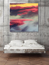 Sunset Canvas Wall Art, Abstract Cloud Paintings, Cloudscape, Nordic Art Set, Minimalist Wall Decor, Julia Apostolova, walldecor, wall decor, wall art trendy, wall art, visual fine art, nordic wall art, nordic decor, bedroom art, dreamy trend art, dreamy clouds, dream clouds, design, cloud oil painting, cloud canvas painting, cloud canvas art, cloud art set, cloud art print, cloud art painting, large wall art, large painting on canvas, abstract sunset art, visual art, office art, hotel decor, contemporary