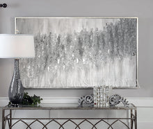 Glitter Painting, Minimalist Silver Art Original, Elegant Gray Painting, Silver Leaf Abstract Art, glitter silver, minimist decor, Julia Apostolova, minimal wall art, grey minimal, zen, silver interior, Gray Original Art, White and Gray, Framed Painting, Gray Abstract, framed wall art, silver abstract art, silver interior design ideas, silver abstract, modern wall decor, modern art decor, modern silver wall art, silver gray, silver glitter, silver foil painting, silver foil, silver floating frame
