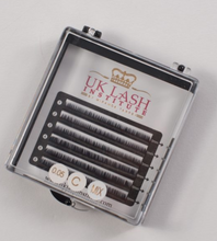 Pestañas UK Lash Institute - mix para lagrimales y inferiores