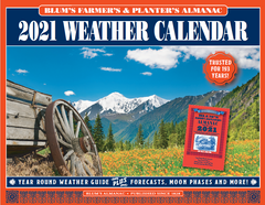 2021 Blum's Weather Calendar
