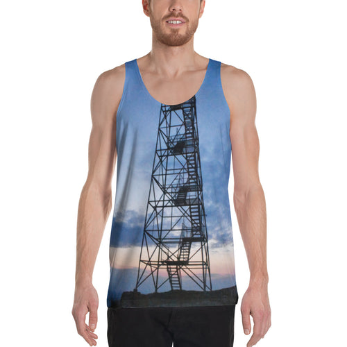 Mt. Beacon Fire Tower High Quality Unisex Tank Top