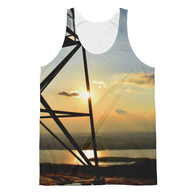 Fire Tower Sunset Classic Fit Tank Top