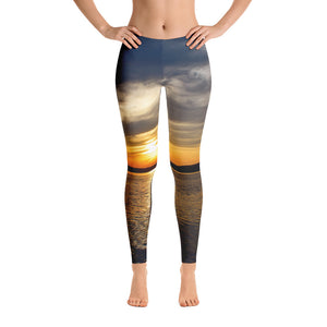 Hudson River Sunset Leggings