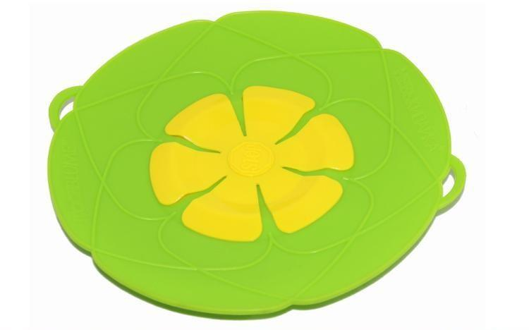 Silicone Lid Spill Stopper Pan Cover