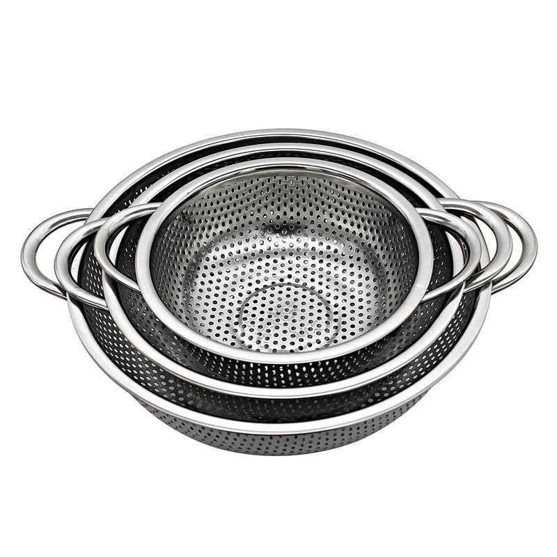 Stainless Steel Colander With Handles