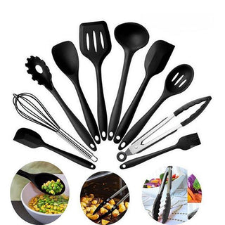 Non-Stick Silicone Kitchen Utensils