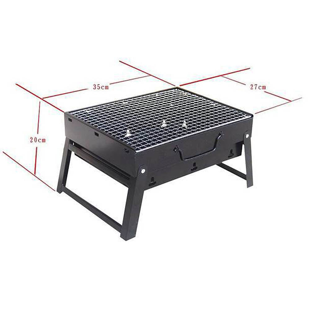 Outdoor Folding Patio Barbecue Grill