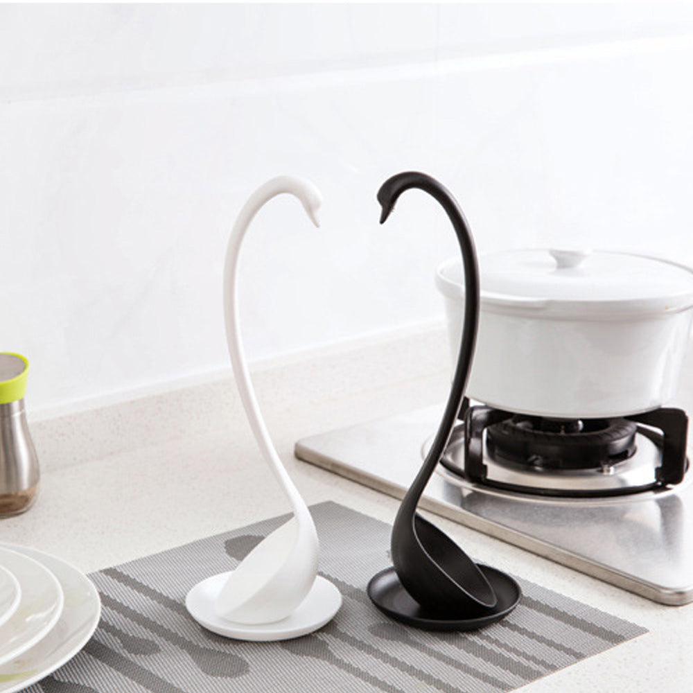 Swan Shaped Kitchen Plastic Spoon