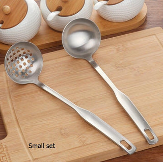 Stainless Steel Cookware Ladle & Colander