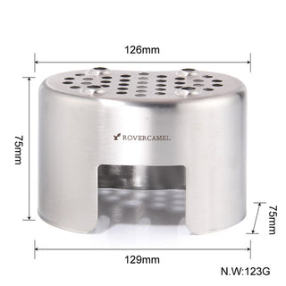 Portable Ultralight Stainless Steel Stove