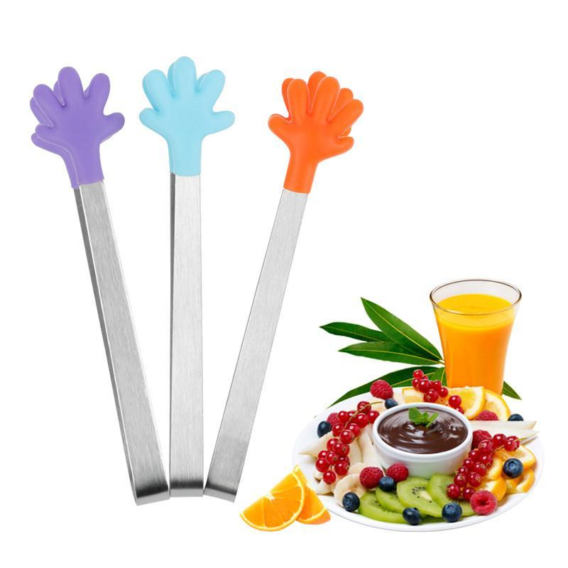 Clip Silicone Hand Tongs