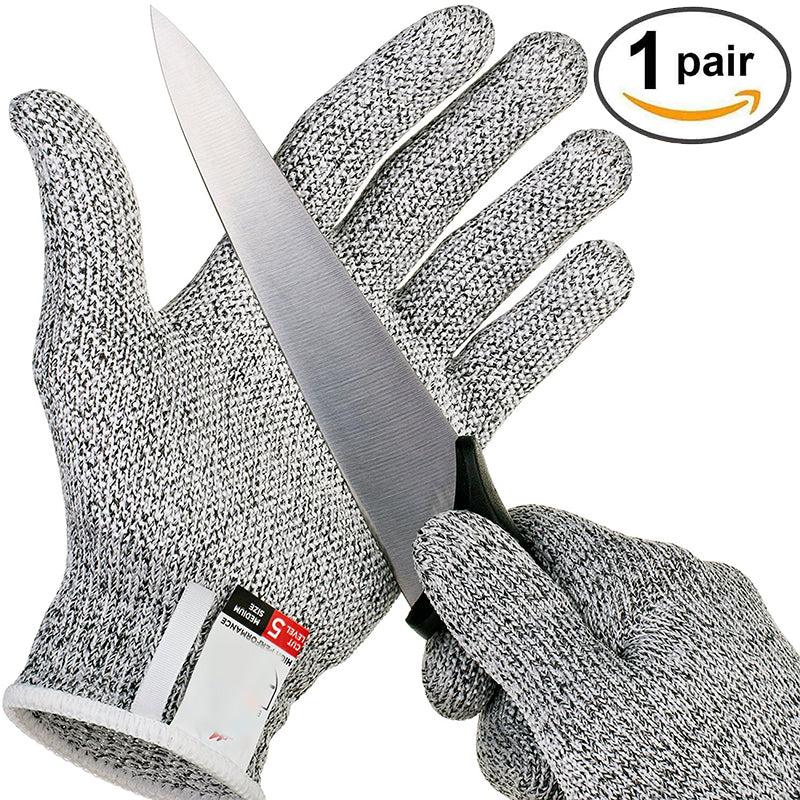 Stainless Steel Wire Metal Mesh Kitchen Anti-cut Gloves