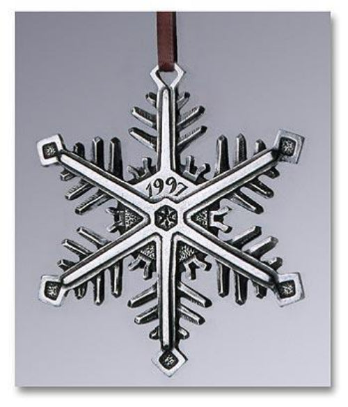 "1997 Snowflake ""Bentley"" Ornament"