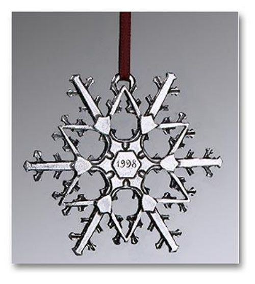"1998 Snowflake ""Bentley"" Ornament"