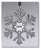 "1999 Snowflake ""Bentley"" Ornament"