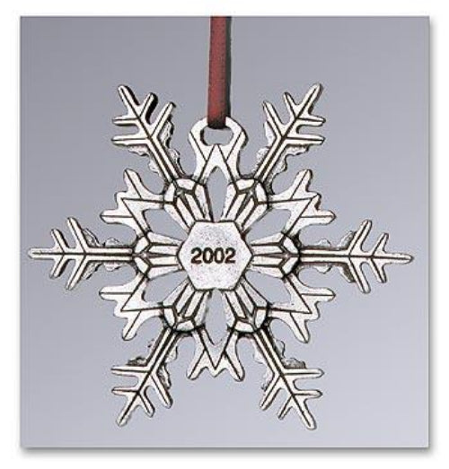 "2002 Snowflake ""Bentley"" Ornament"