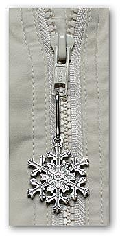 "2007 ""Snowflake"" Bentley Zipper Pull"