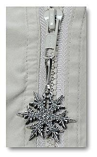 "2008 ""Snowflake"" Bentley Zipper Pull"