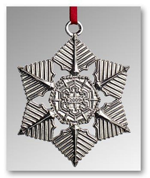 "2009 Snowflake ""Bentley"" Ornament"