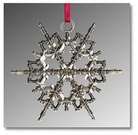 "2010 Snowflake ""Bentley"" Ornament"