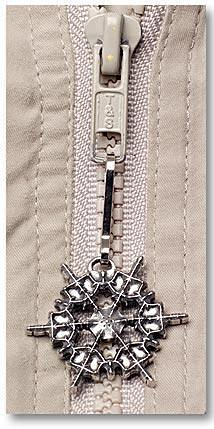 "2010 ""Snowflake"" Bentley Zipper Pull"