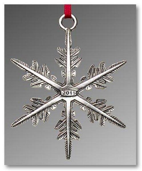 "2011 Snowflake ""Bentley"" Ornament"